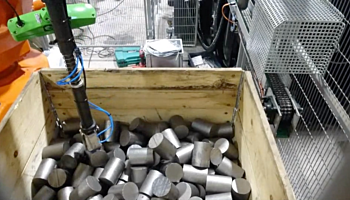 Billets automated bin picking