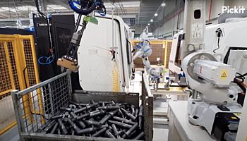 Bin picking and machine loading SHAFTS