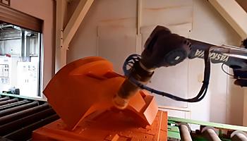 Teilelokalisierung, Klassifizierung und Roboterführung bei Doosan Industrial Vehicle