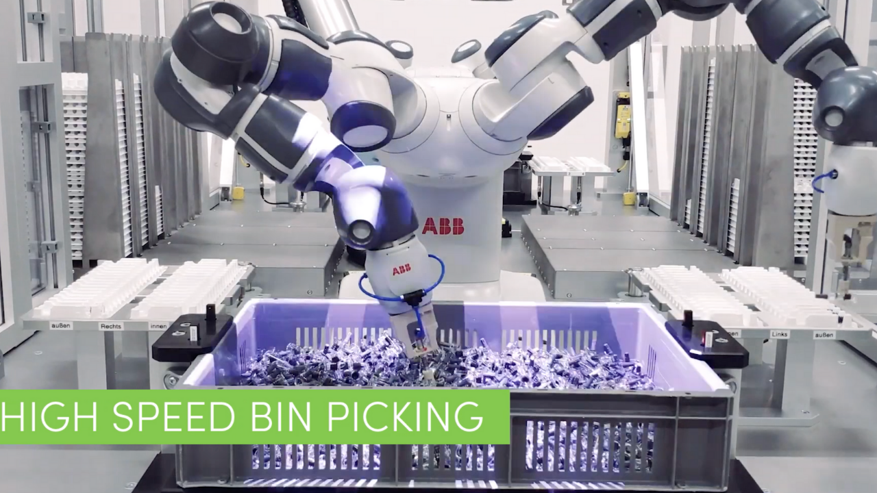 Robotic Retrayer: process-reliable material separation for pharma