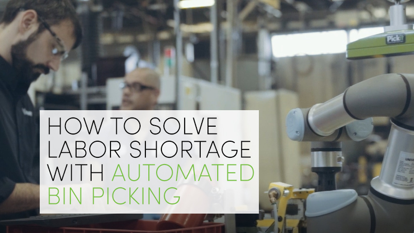 Case Study: Meet Elmer, the smart robot that picks 500 parts every hour with Pickit's help