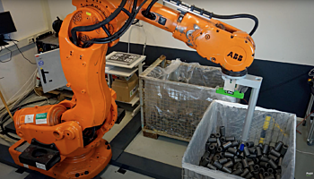Automated bin picking silencers, silent blocks, bushings