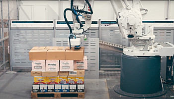 Unload a pallet with ABB and Pickit